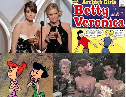 Tina & Amy have joined the Veronica-Betty, Wilma-Betty; Ginger-Maryann, debate;